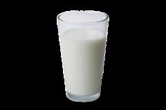 Glas mjölk