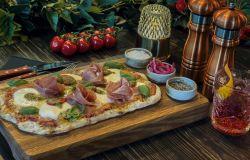 Flatbread Prosciutto, Pesto