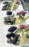 Strömmingsflundra med potatismos/ Fried Baltic herring with