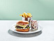 Truffel Oozing Burger