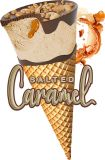 Salted caramel glassstrut