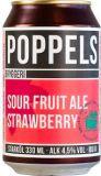 Poppels Sour Fruit Ale Strawberry