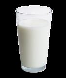 Ett glas mjölk (laktosfri)