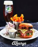 Pulled Beef & Bacon Burger
