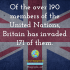Britains colonial past