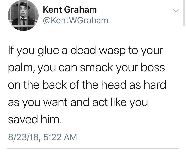 How to smack your boss and get away with it.