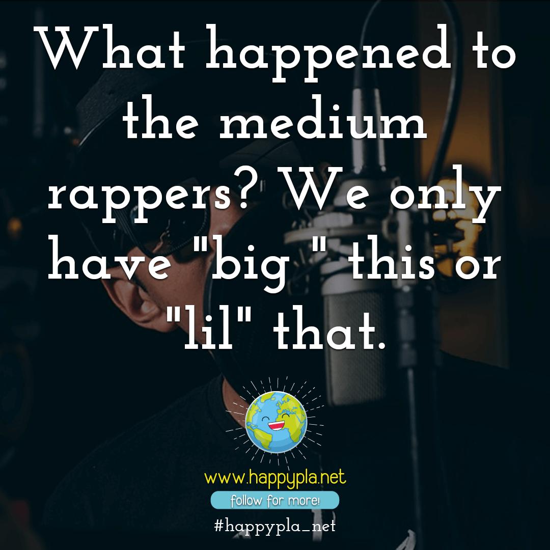 Different rapper sizes