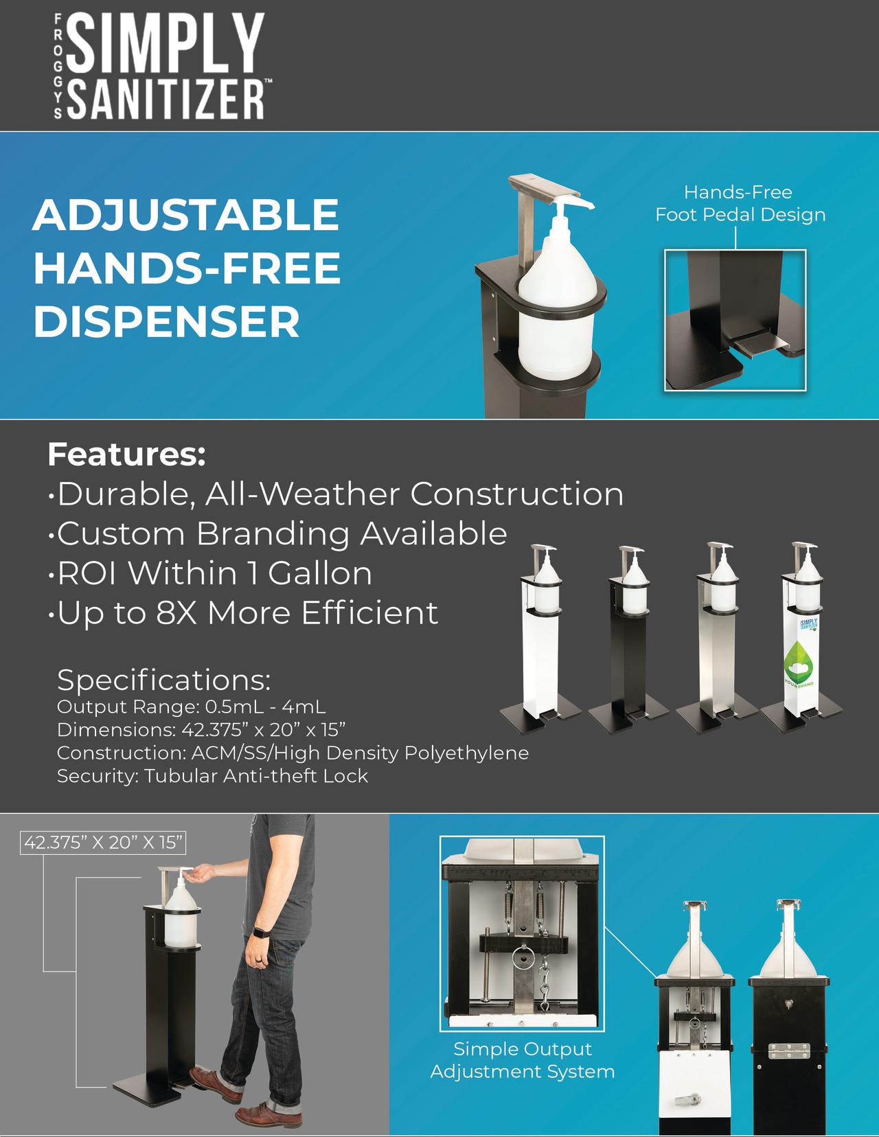 Hands-free dispenser options