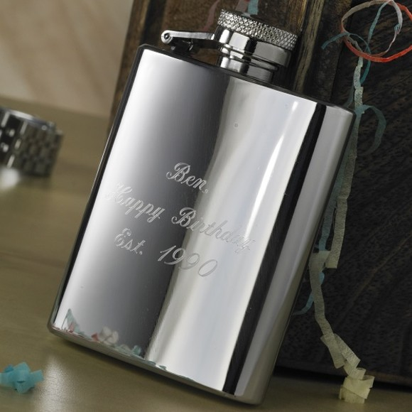 d7fa7a2809f5 Stainless Steel Hip Flask - 24 items