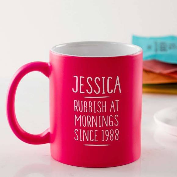Personalised 30th Birthday Mug For Women
