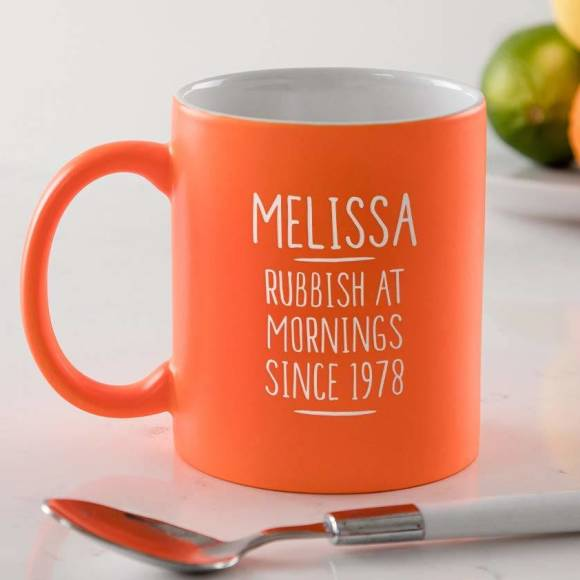 Personalised 40th Birthday Mug For Women