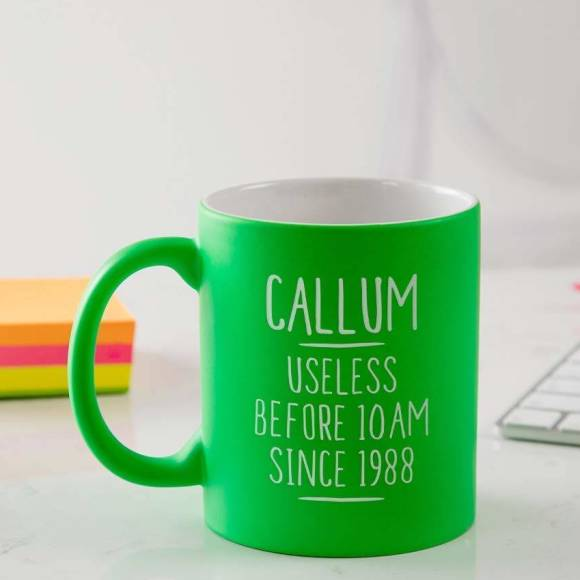 Personalised Funny 30th Birthday Mug For Him