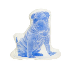 Areaware fauna sharpei cushion