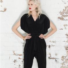 Solange loose fit jumpsuit in black