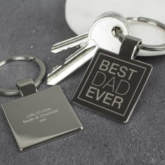 Best Dad Ever Key Ring