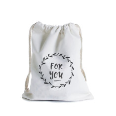 For you wreath canvas gift bag