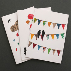 Greeting cards (set of 3)