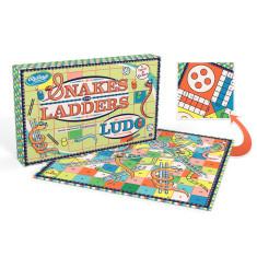 Ridleys Kaleidoscope snakes & ladders/ludo boardgame