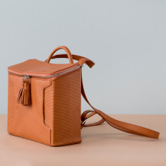 Graduate Leather Box Bag Or Backpack - various colours