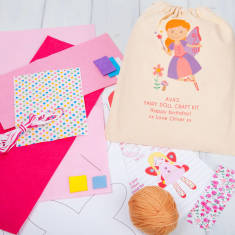 Personalised Make Your Own Fairy Rag Doll Craft Kit