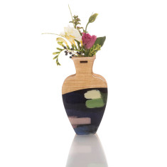 Large handmade vase in Rain