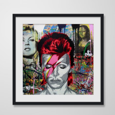 Ziggy Stardust by Mr Brainwash