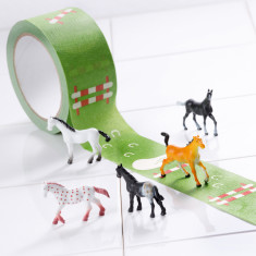Donkey Products horse show tape gallery