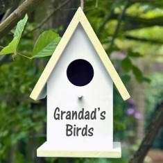 Personalised Bird Box