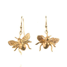 Amanda Coleman - bee drop earrings