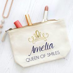 Personalised Queen Lipstick Bag