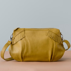 Capt' Leather Bag - various colours
