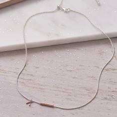 Lucky Wishbone Necklace