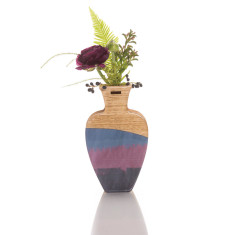 Large handmade vase in Brushstroke