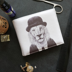 Sir Lion Vegan Leather Men's Wallet