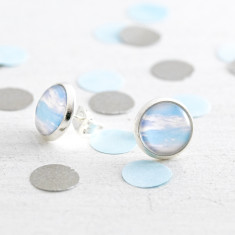 Blue Sky Stud Earrings