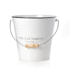 Laundress White Pail