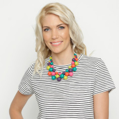 Paradiso Party Bubble Necklace and Earrings Set