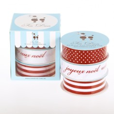 Christmas joyeux noel ribbon box