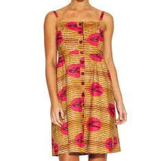 Robbie Dress - African Bird