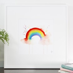 Somewhere over the Rainbow Print