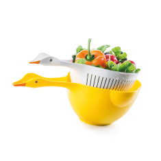 Donkey Products goosey bowl & colander set