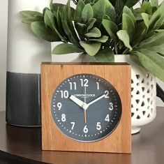 London Clock Company Maxwell silent alarm clock