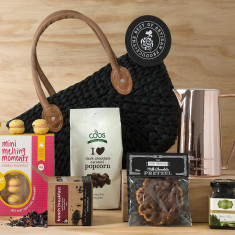 Basket of copper joy hamper
