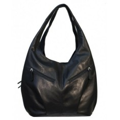 Genuine Leather Bag in Black for Women