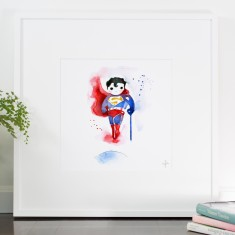 Super boy print