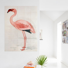 IXXI Finch-Davies flamingo wall art (multiple sizes)