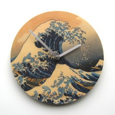 Objectify Great Wave Wall Clock