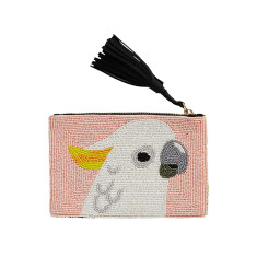 Cocky Beaded Clutch