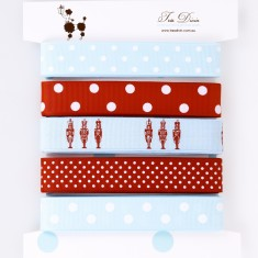 Ribbon card in soldier