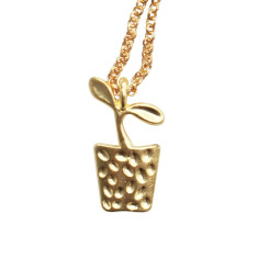 Pot plant pendant (two lengths)
